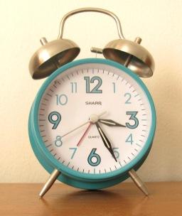 Sharp Alarm Clock TEAL